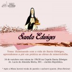 Dia de Santa Edwiges – missa na capela dia 16/10/2021.