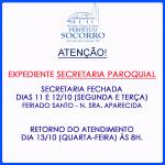 Expediente Secretaria Paroquial.